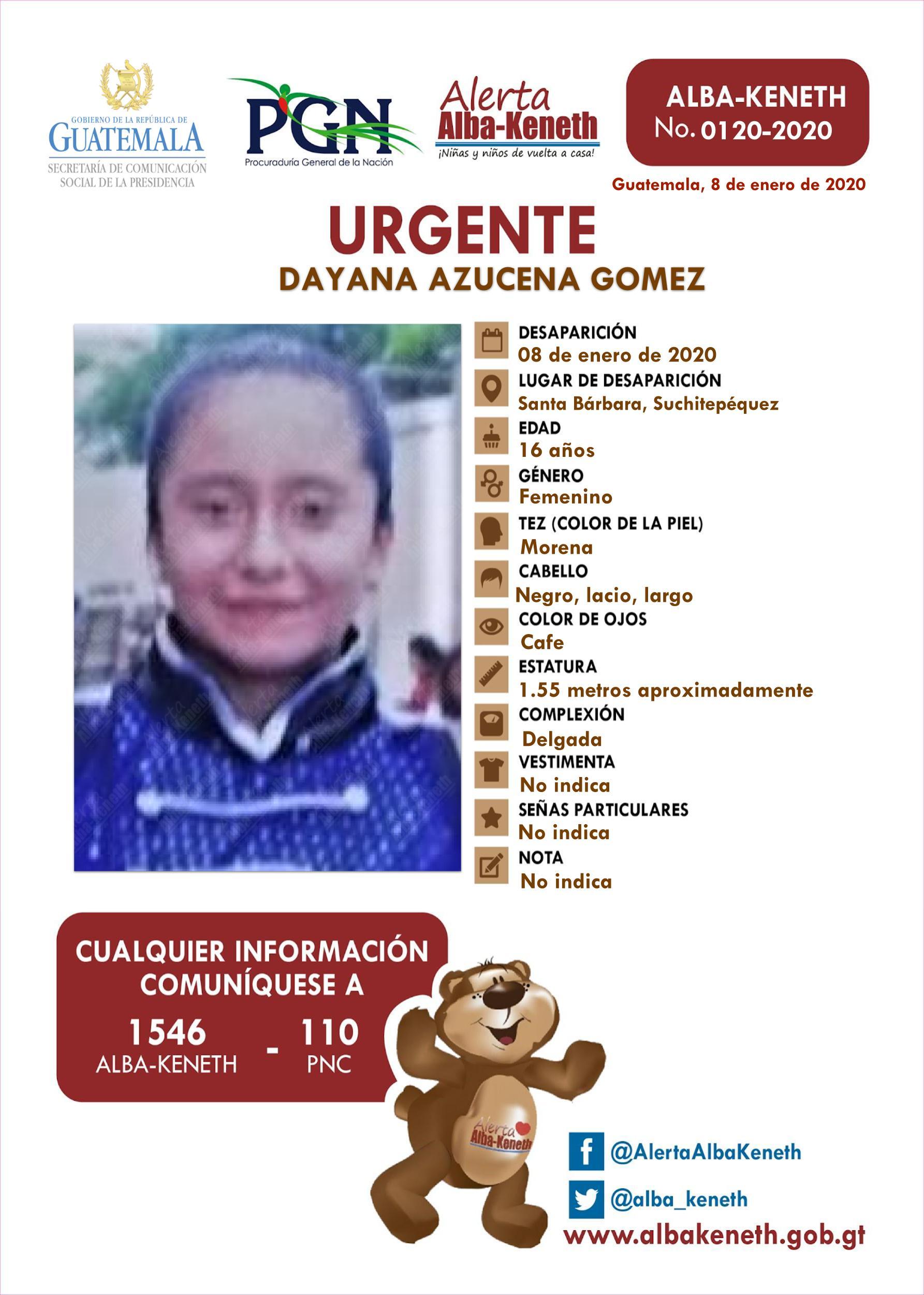 Dayana Azucena Gomez