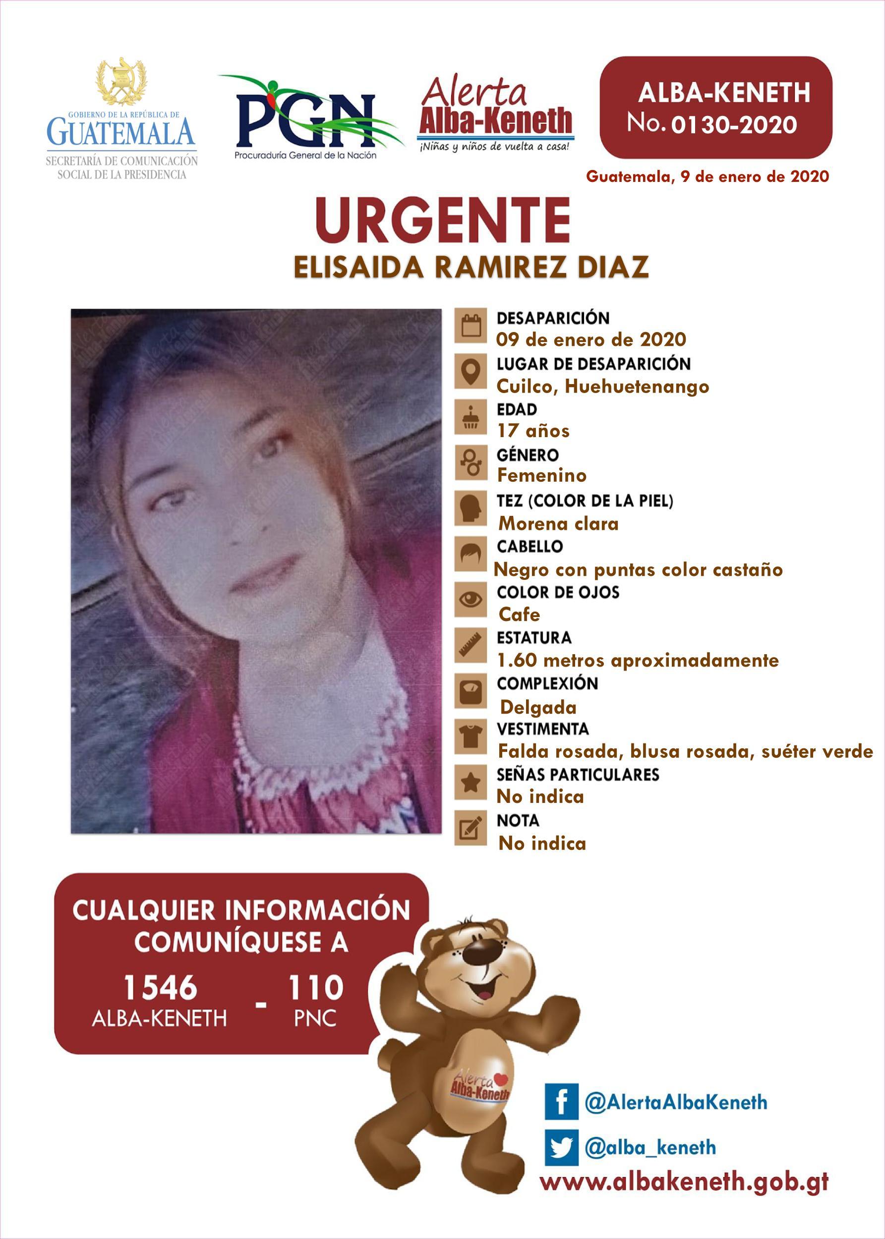 Elisaida Ramirez Diaz