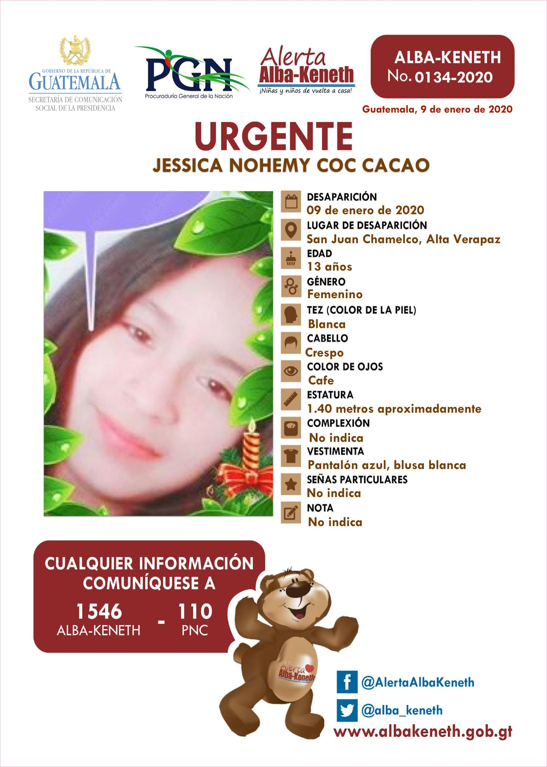 Jessica Nohemi Coc Cacao