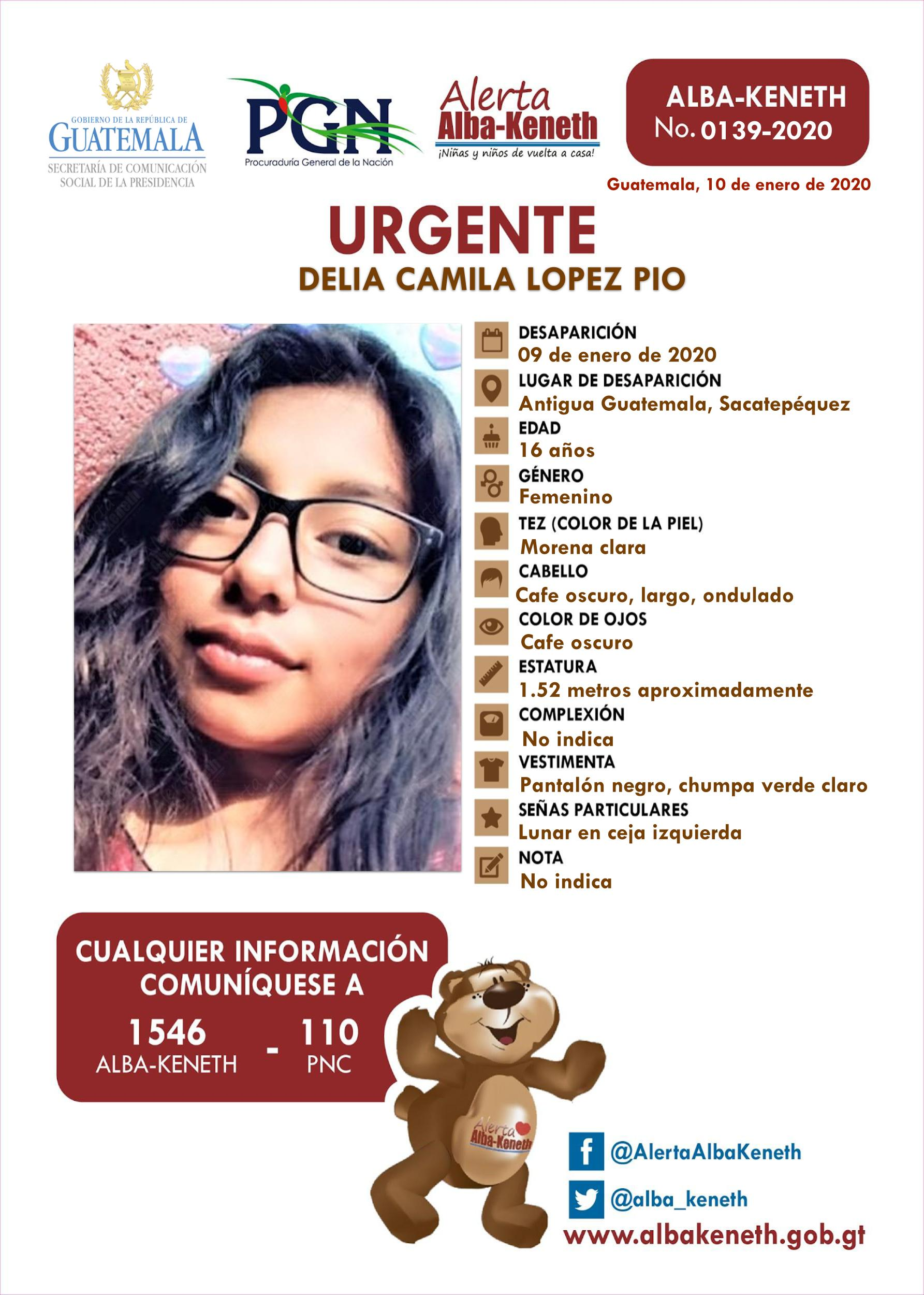 Delia Camila Lopez Pio