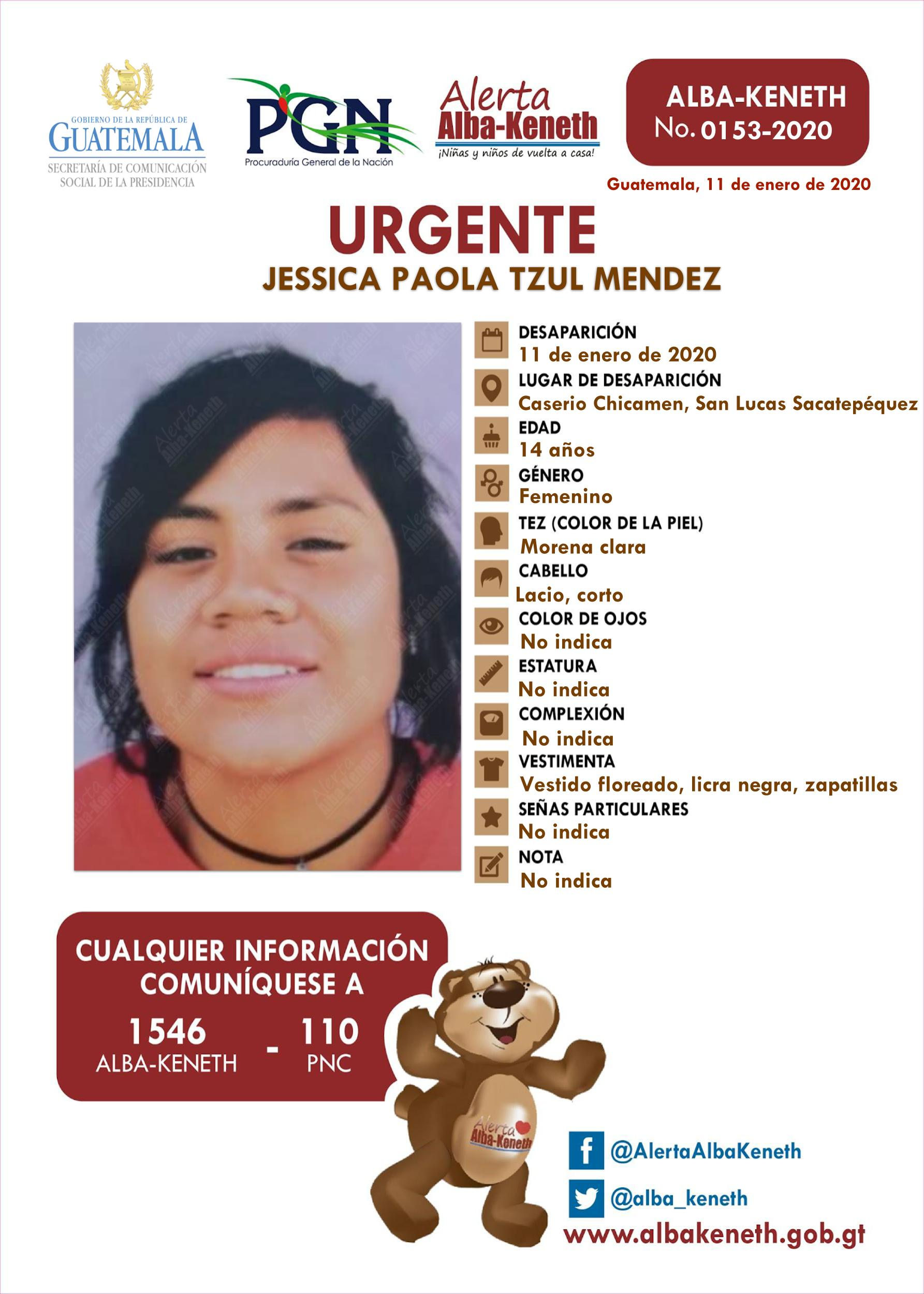 Jessica Paola Tzul Mendez