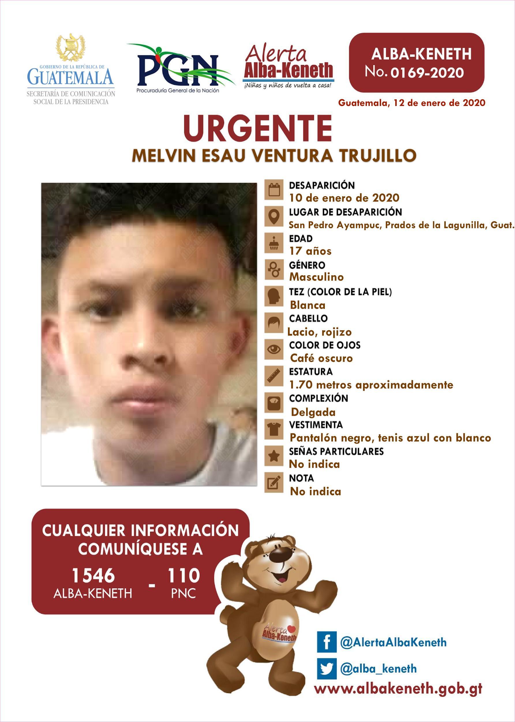 Melvin Esau Ventura Trujillo
