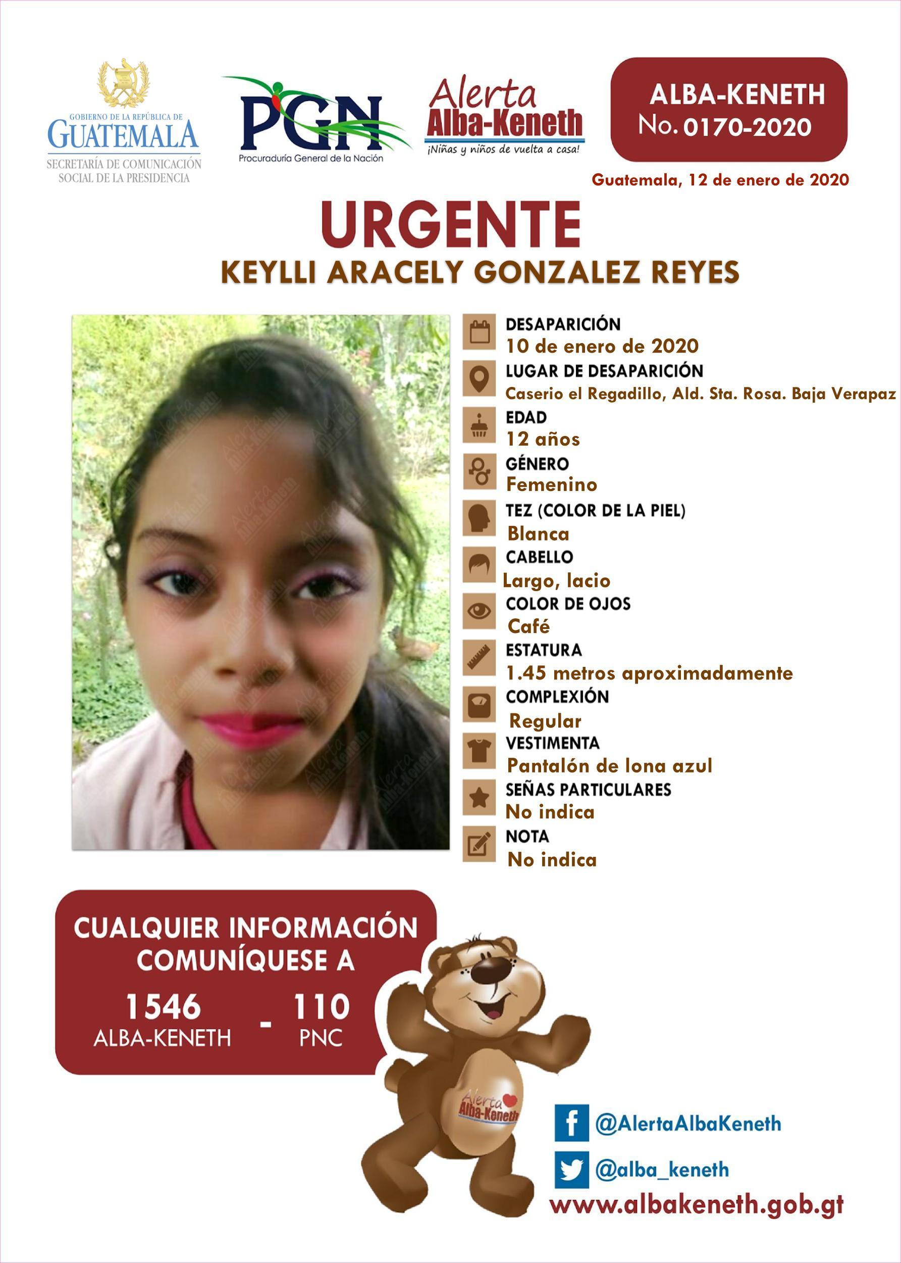 Keylli Aracely Gonzalez Reyes