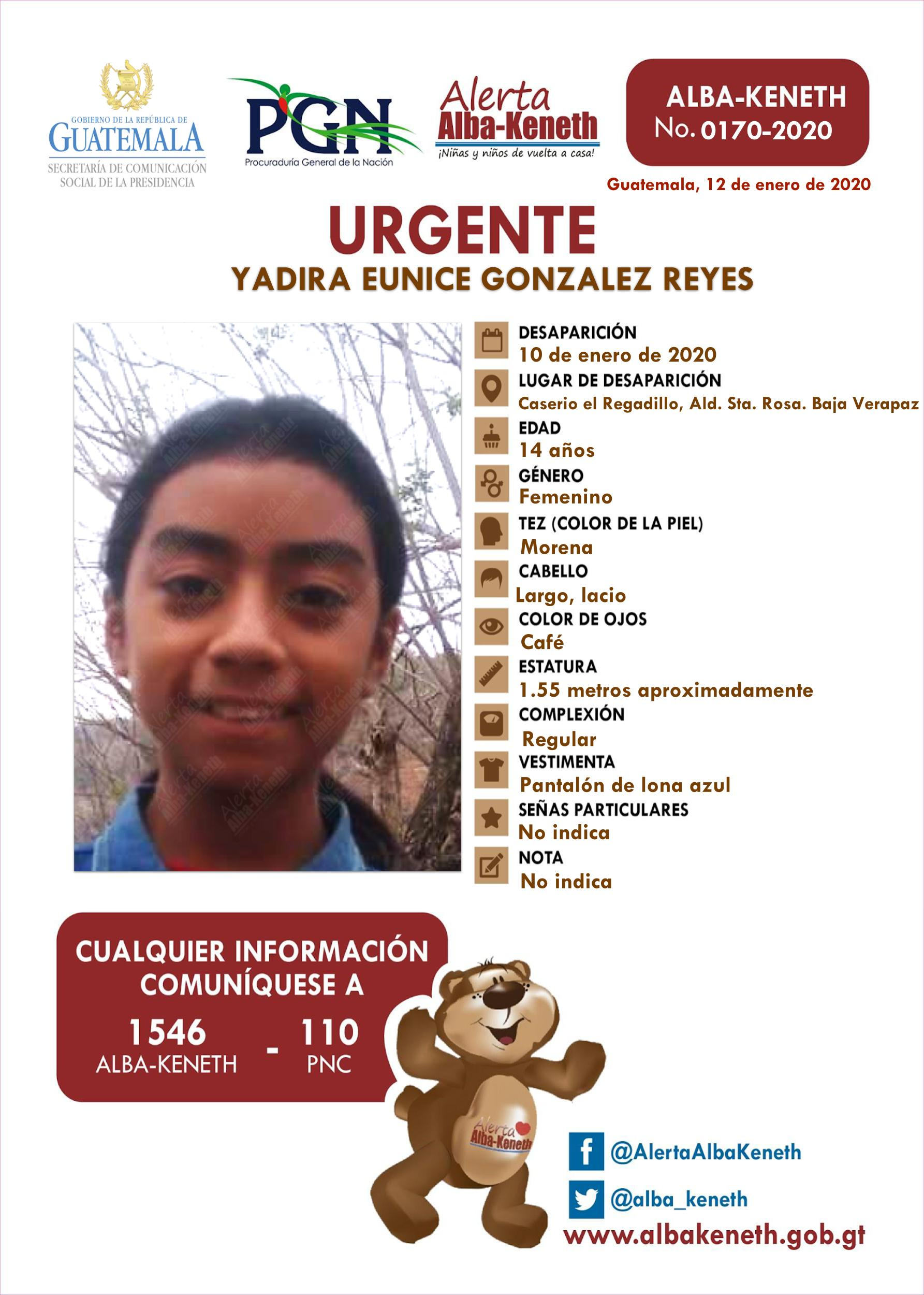 Yadira Eunice Gonzalez Reyes