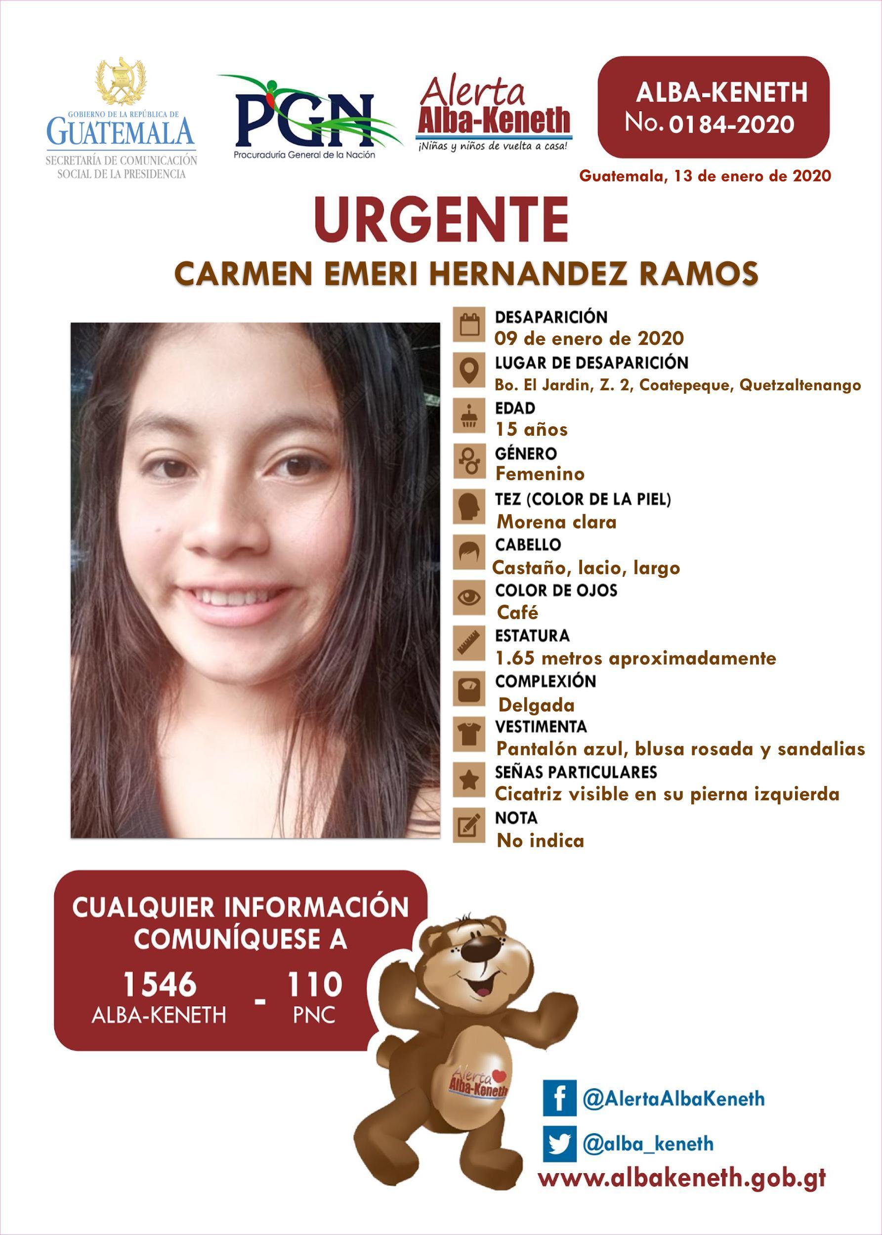 Carmen Emeri Hernandez Ramos