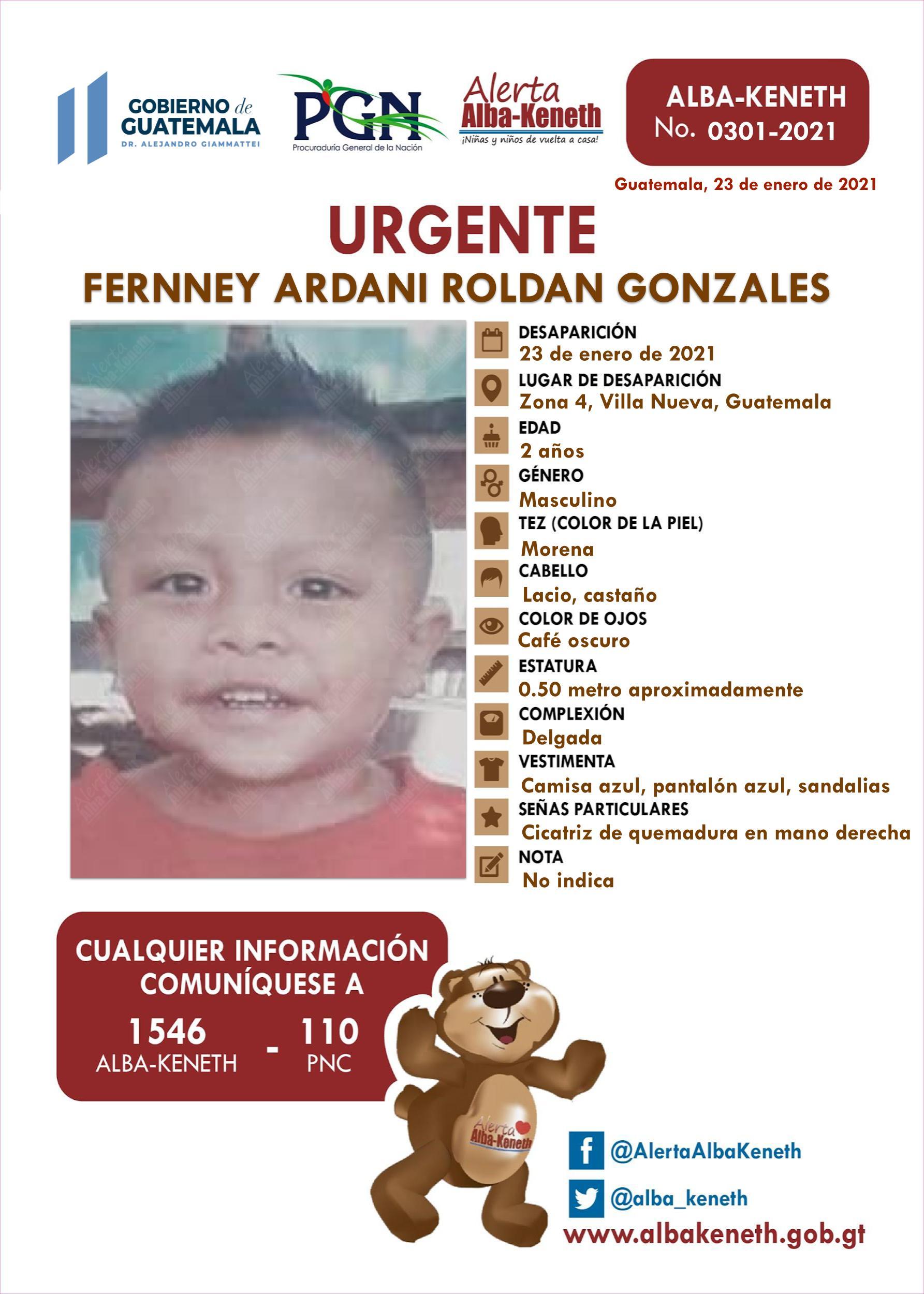Fernney Ardani Roldan Gonzales