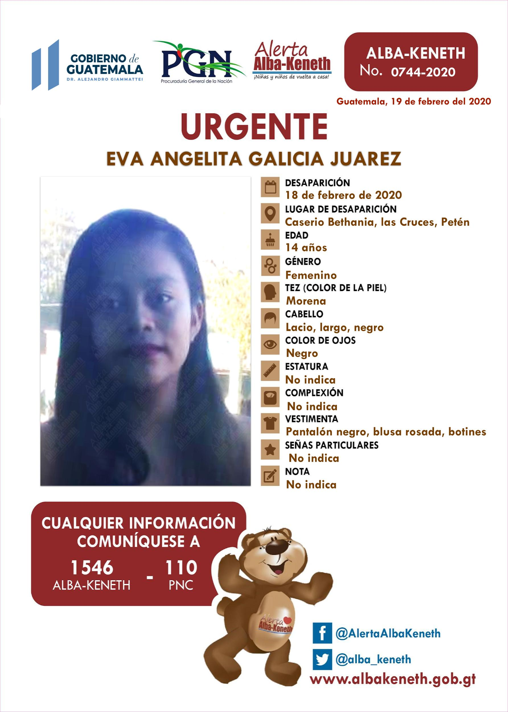 Eva Angelita Galicia Juarez