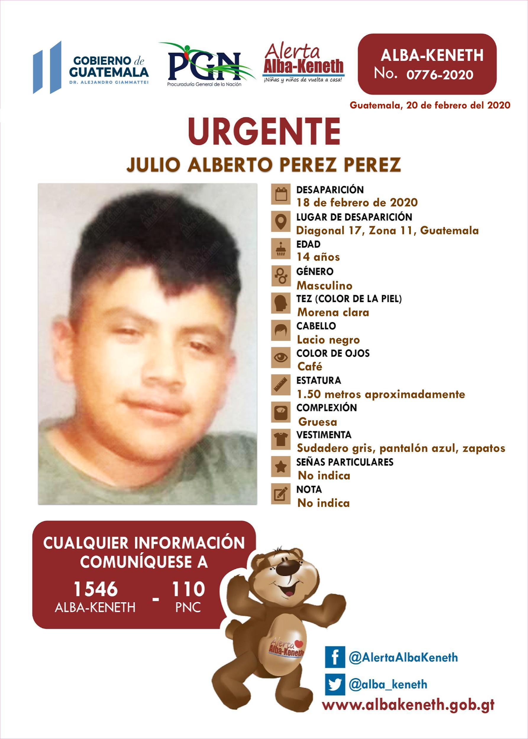 Julio Alberto Perez Perez