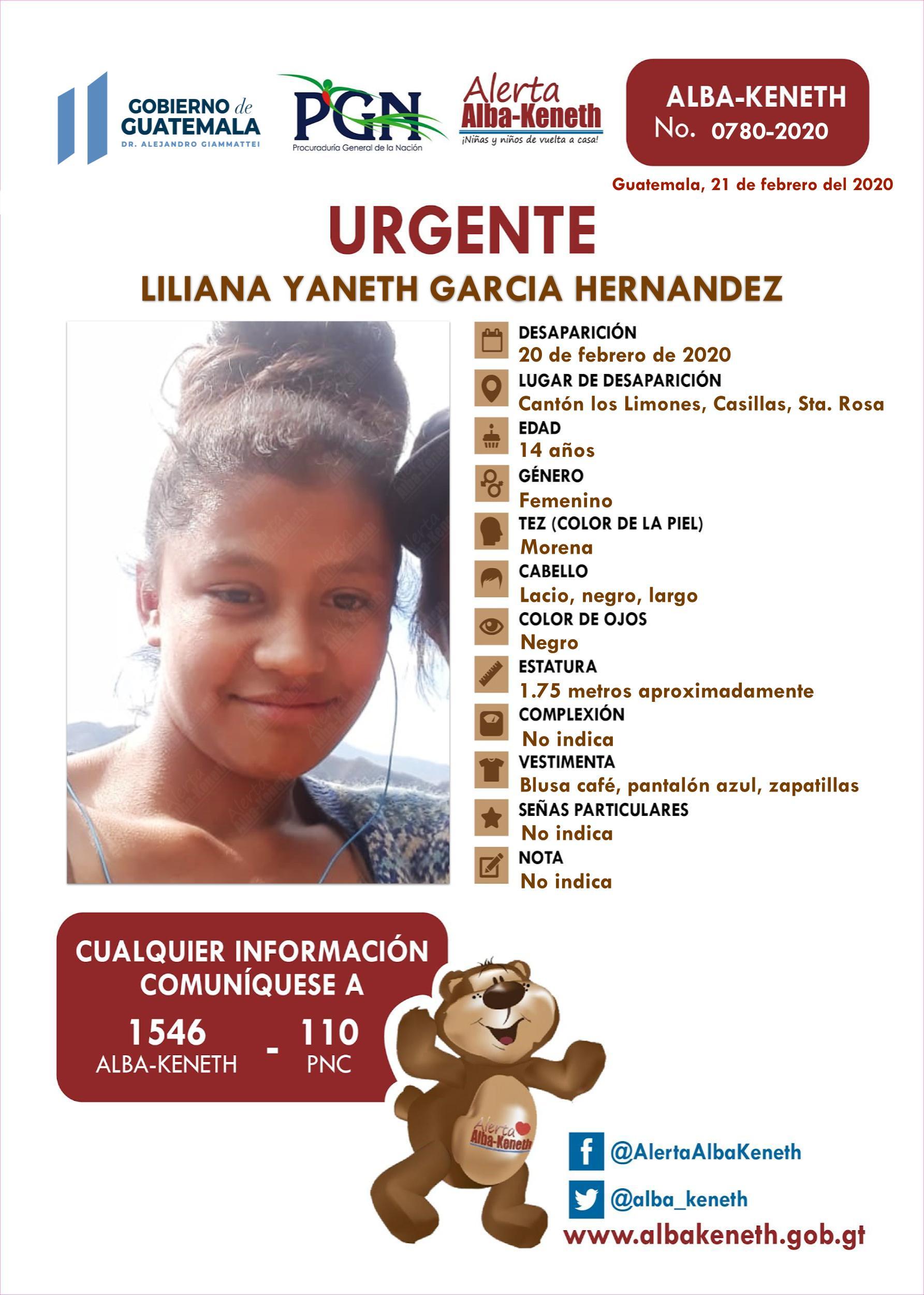 Liliana Yaneth Garcia Hernandez