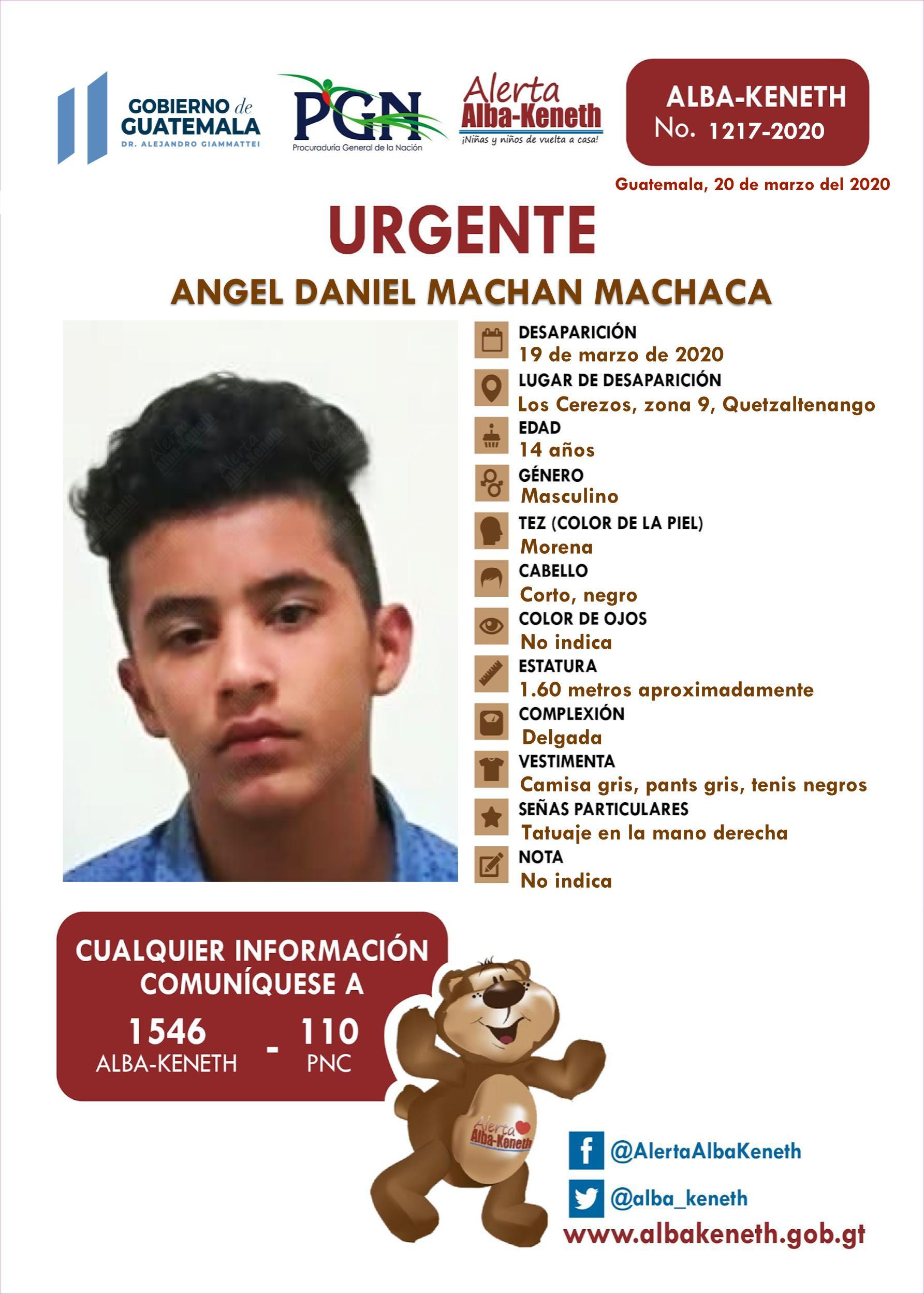 Angel Daniel Machan Machaca