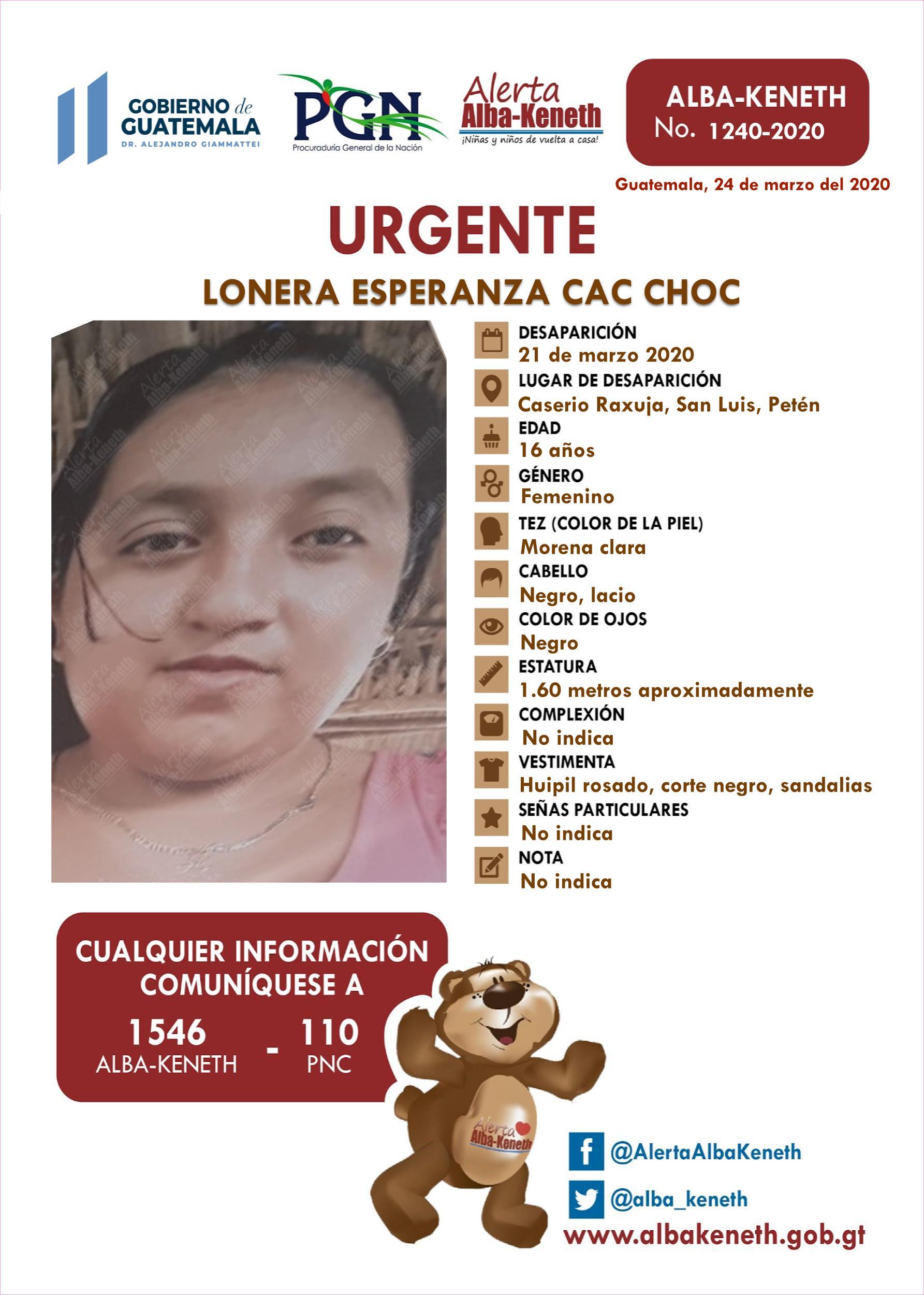 Lorena Esperanza Cac Choc