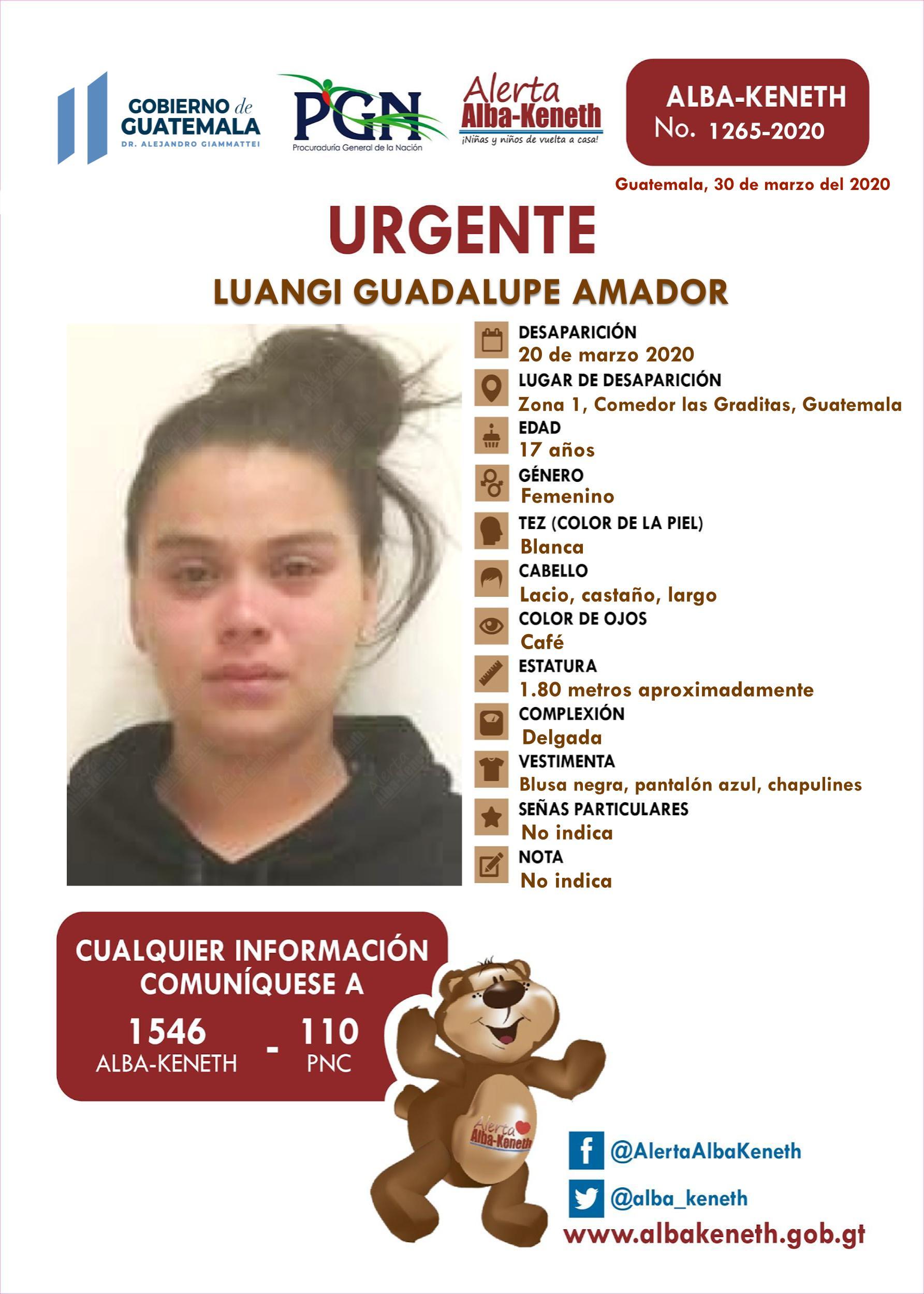 Luangi Guadalupe Amador