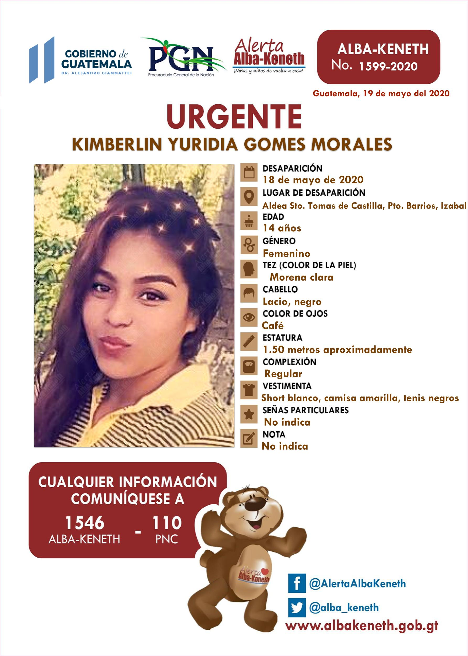 Kimberlin Yuridia Gomes Morales