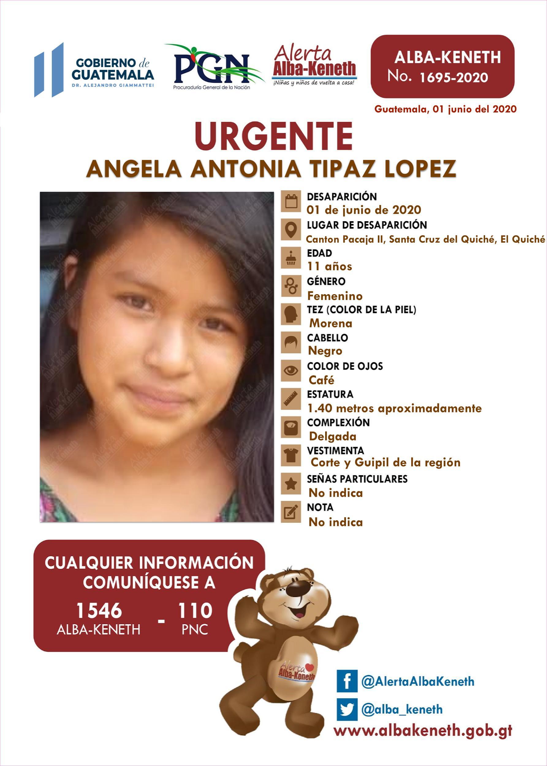 Angela Antonia Tipaz Lopez