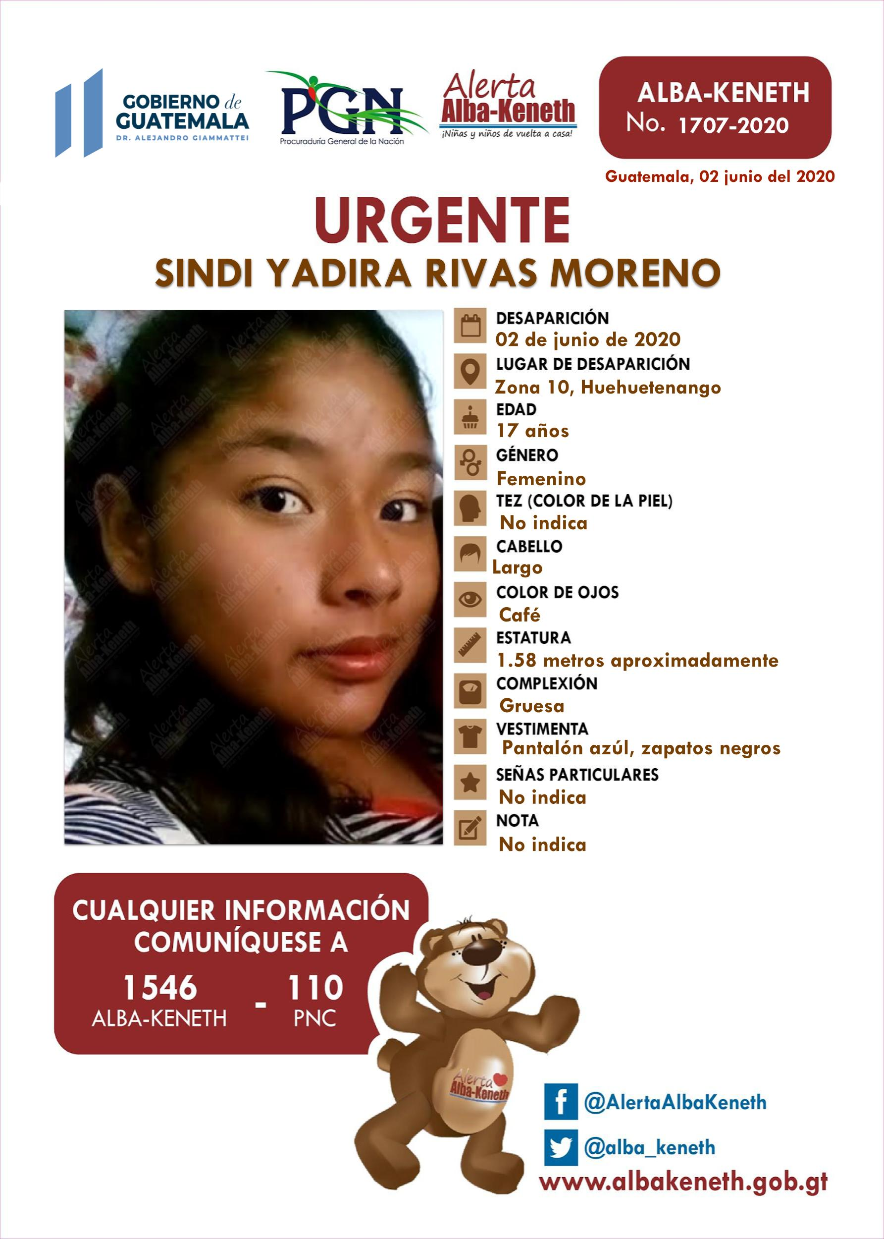 Sindi Yadira Rivas Moreno