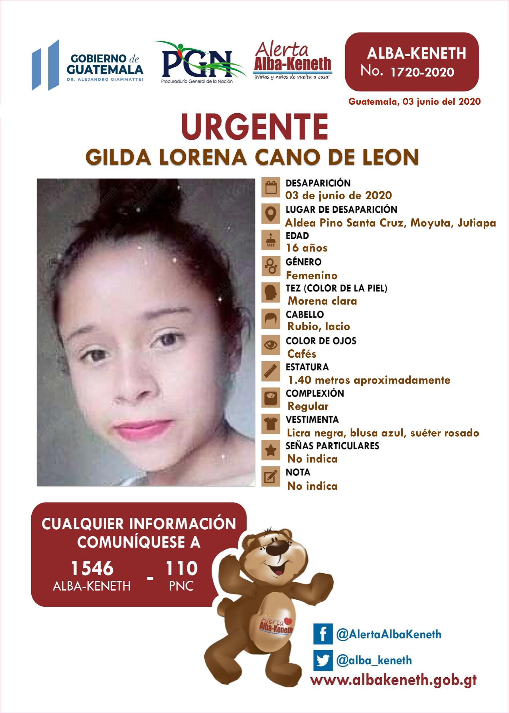 Gilda Lorena Cano de Leon