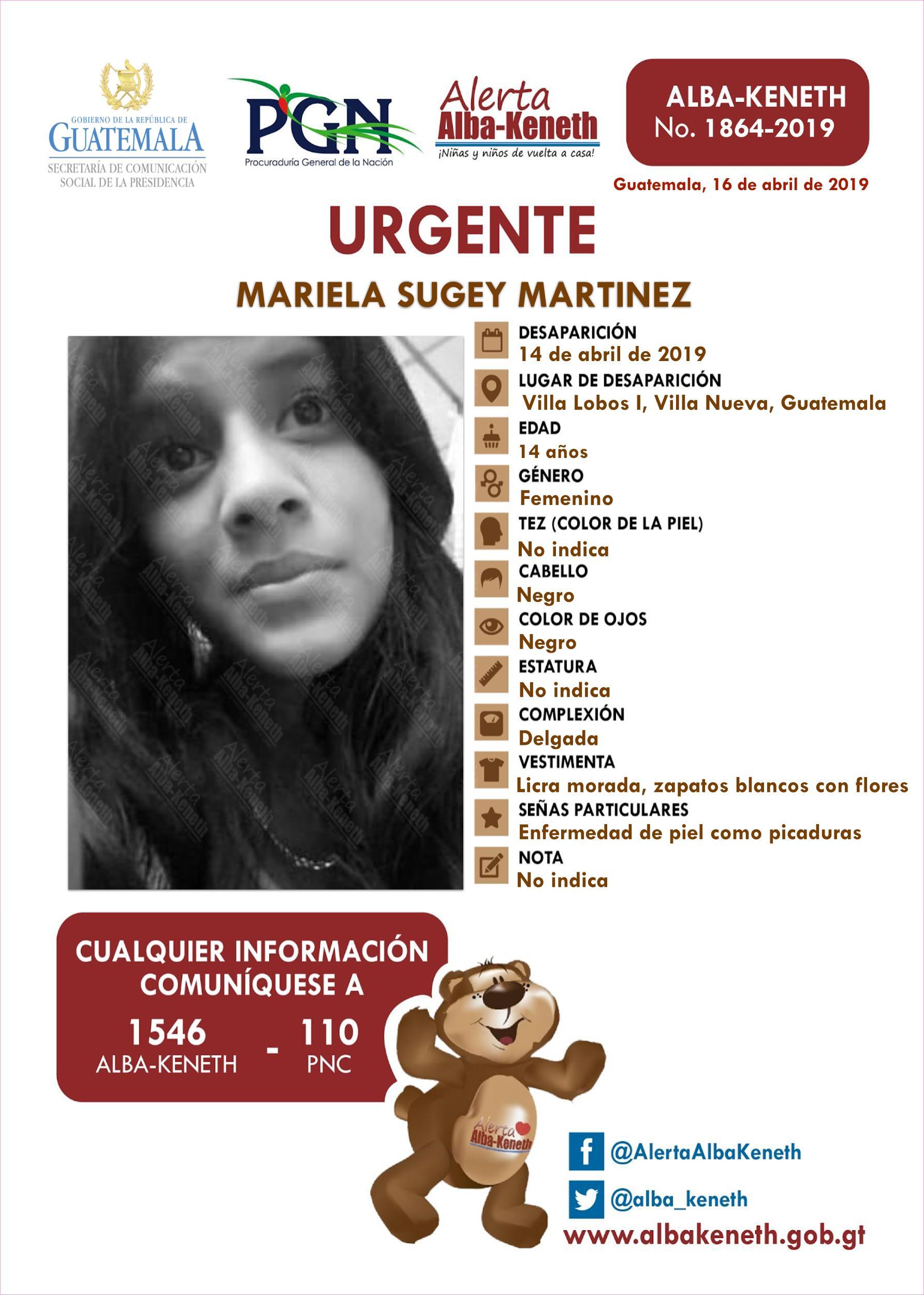 Mariela Sugey Martinez