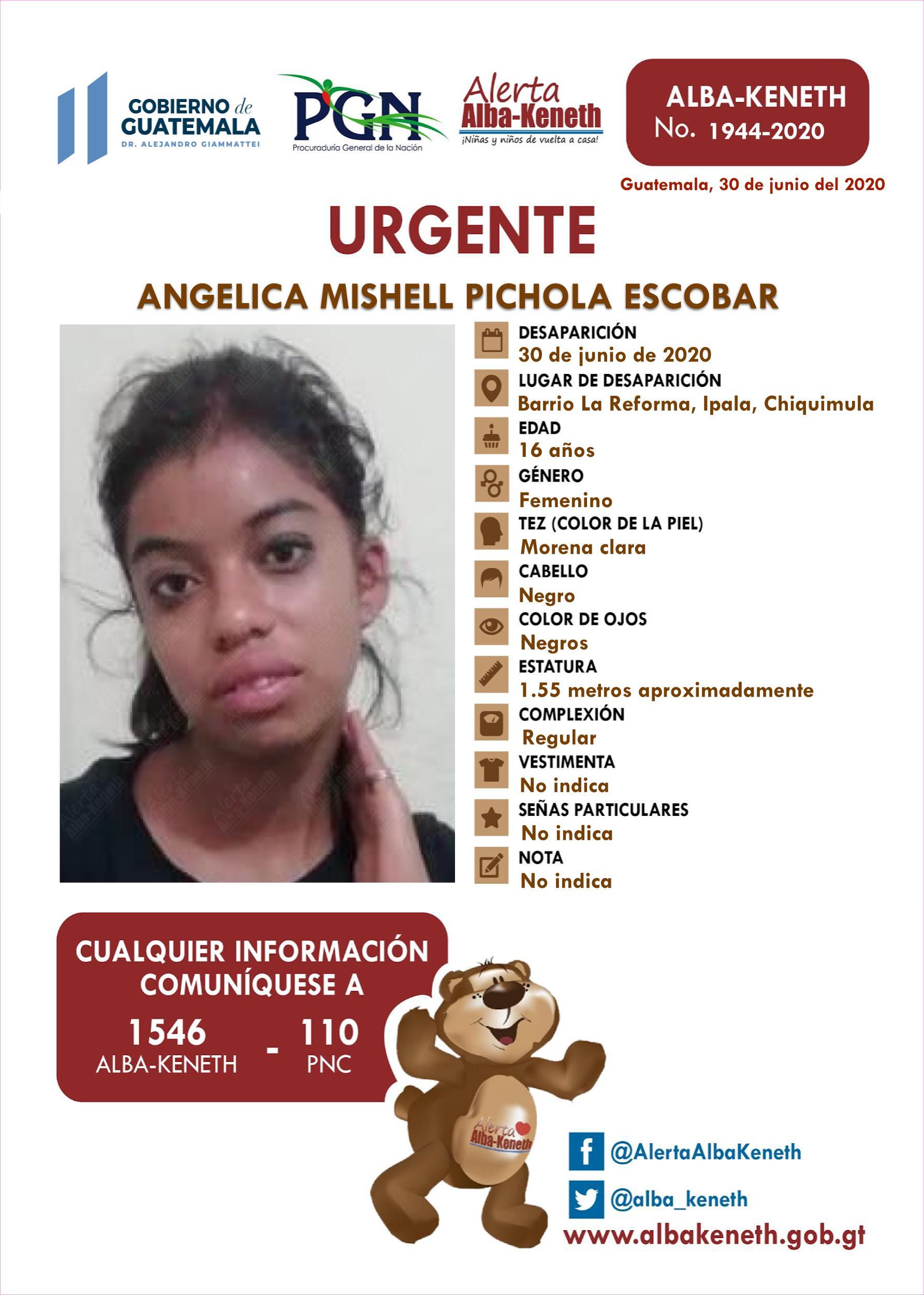 Angelica Mishell Pichola Escobar