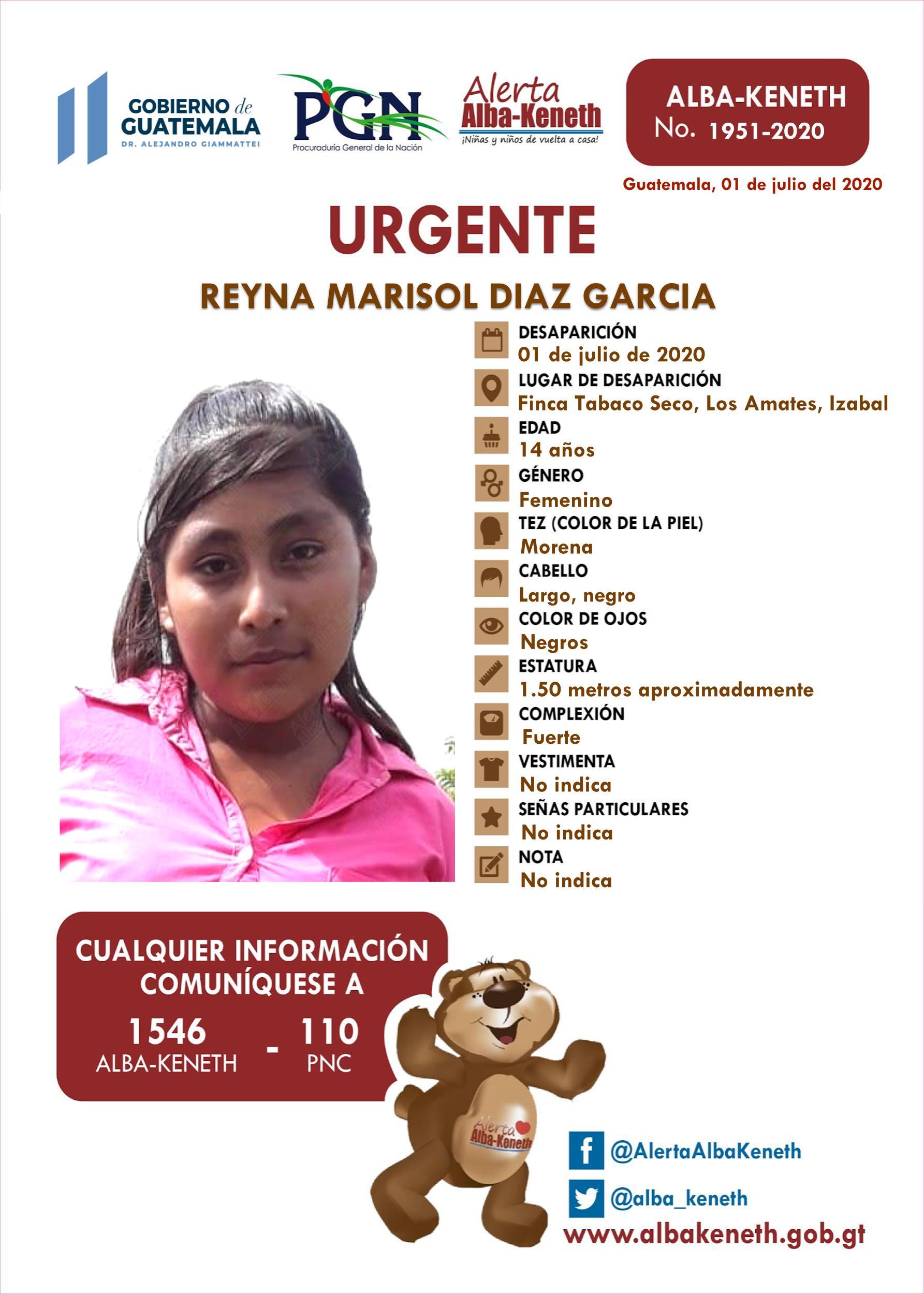 Reyna Marisol Diaz Garcia