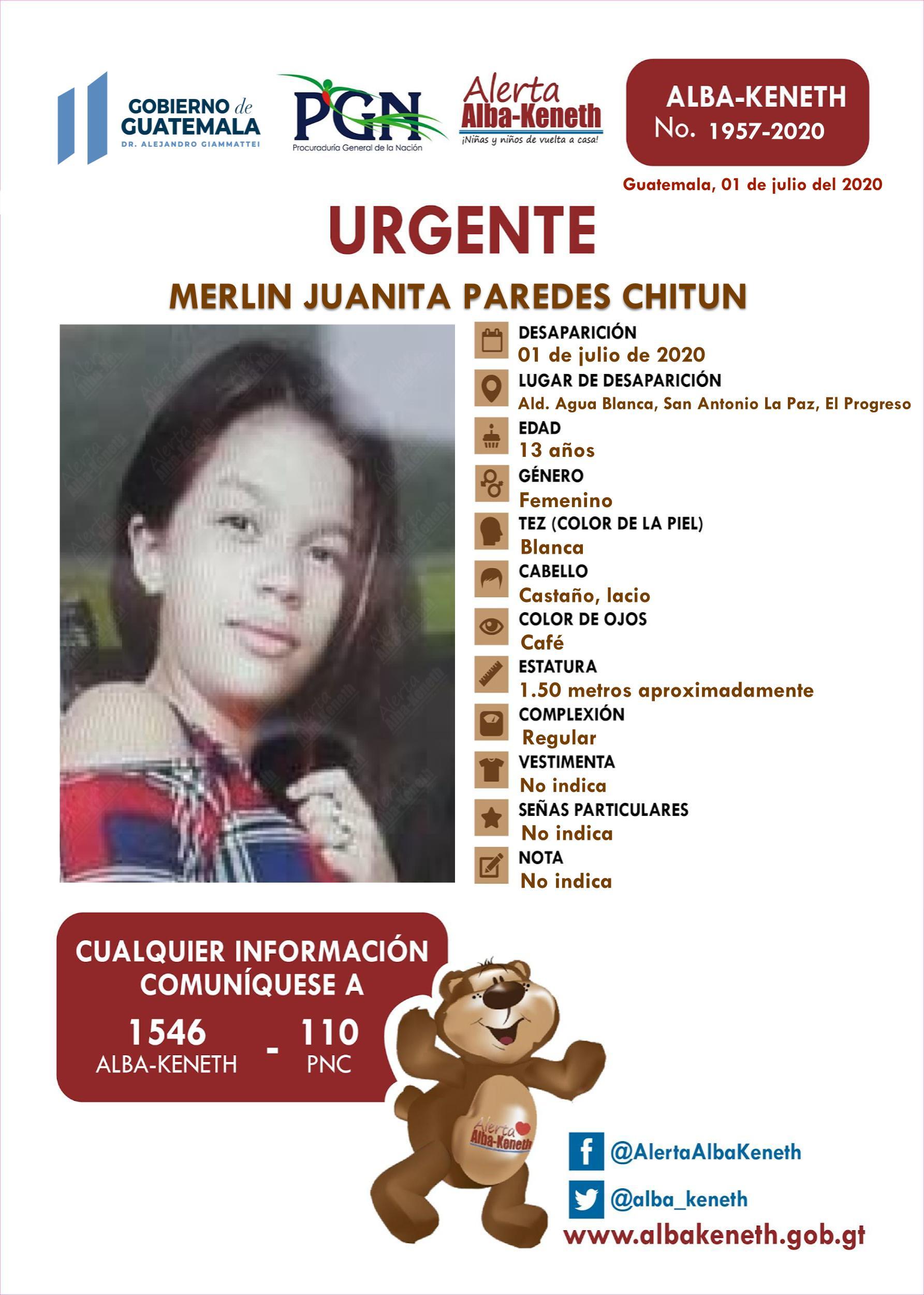 Merlin Juanita Paredes Chitun