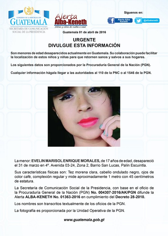 Evelin Marisol Enrique Morales