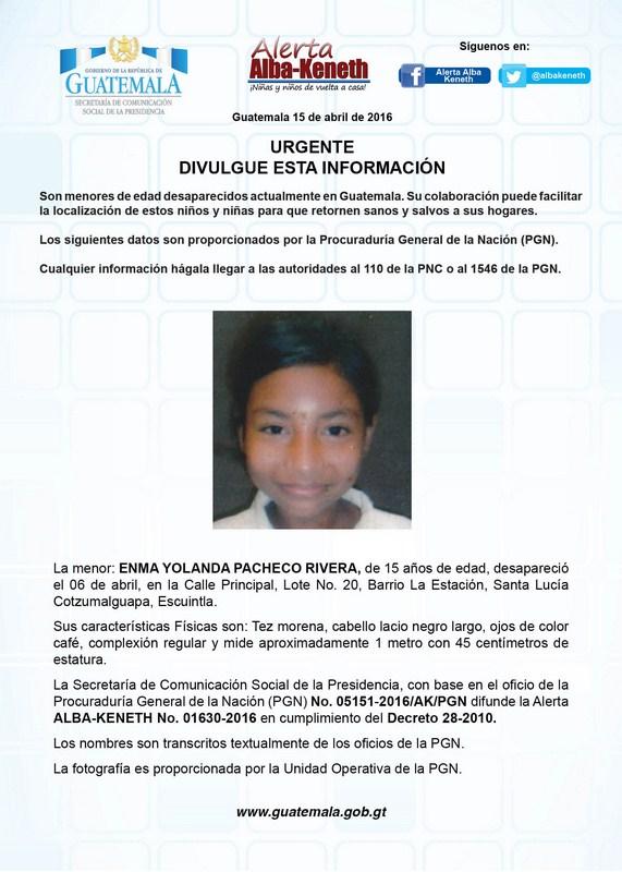 Enma Yolanda Pacheco Rivera