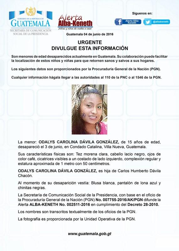 Odalys Carolina Davila González