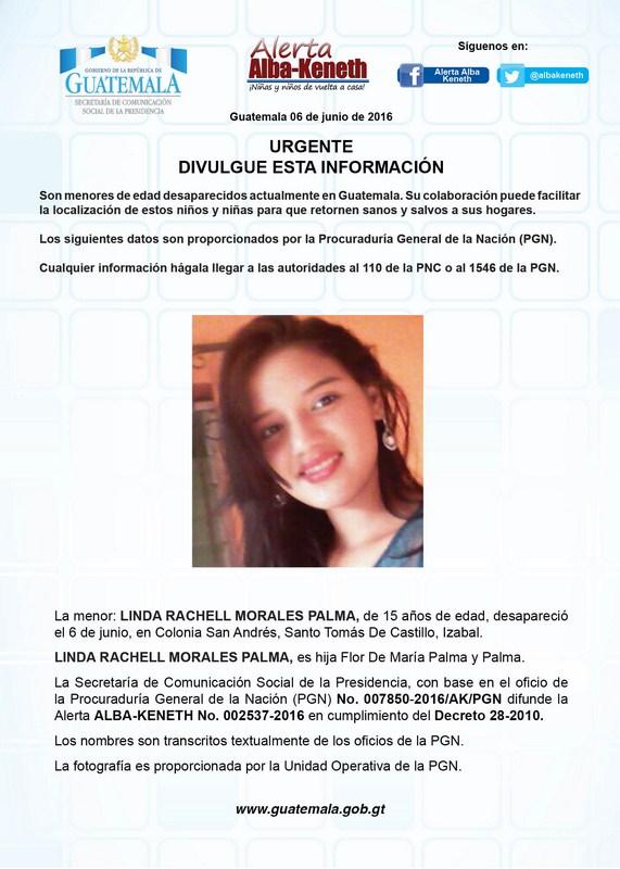 Linda Rachel Morales Palma