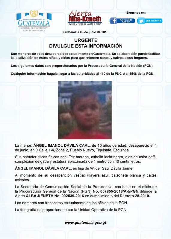 Angel Imanol Davila Caal