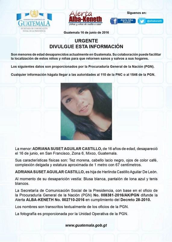 Adriana Suset Aguilar Castillo