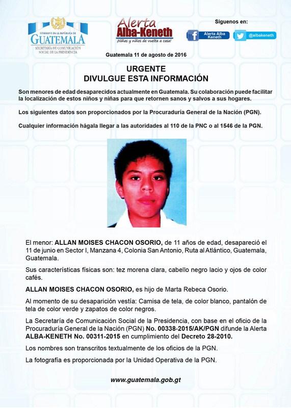 Allan Moises Chacon Osorio