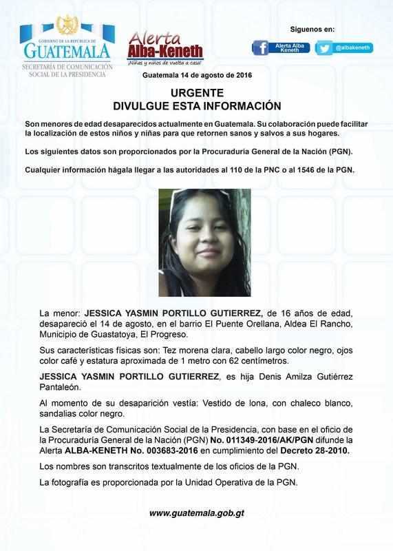 Jessica Yasmin Portillo Gutierrez