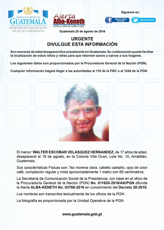Walter Escobar Velazquez Hernandez