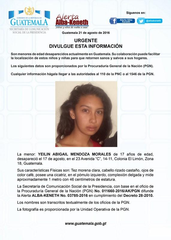 Yeilin Abigail Mendoza Morales