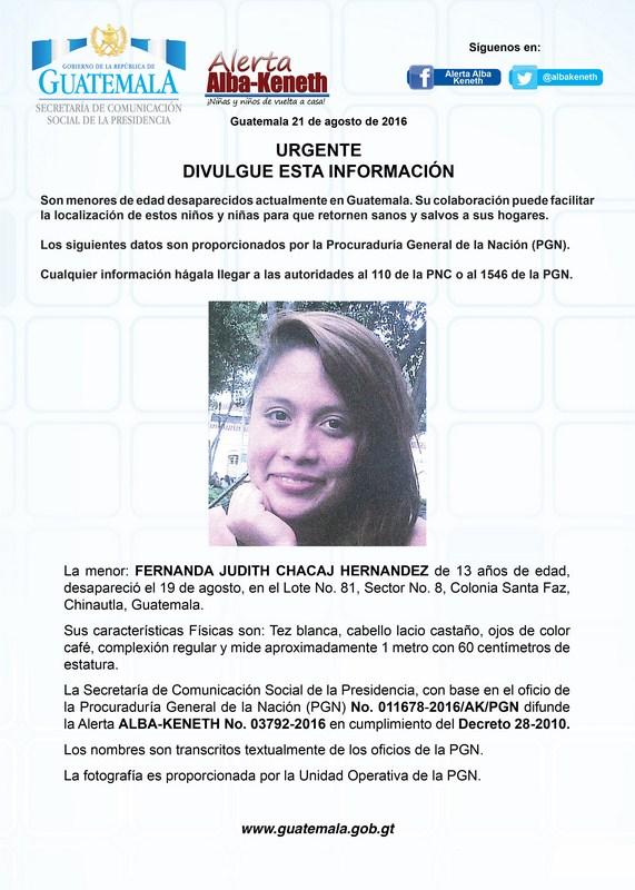 Fernanda Judith Chacaj Hernandez