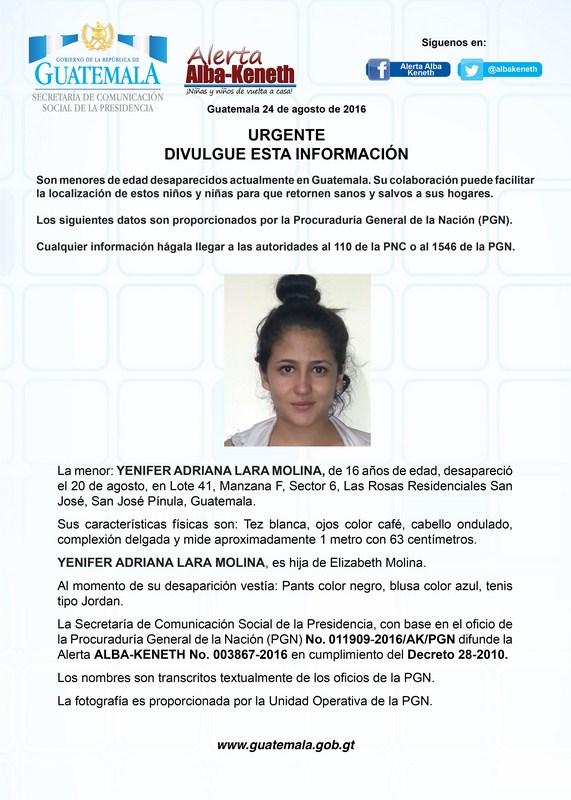 Yenifer Adriana Lara Molina