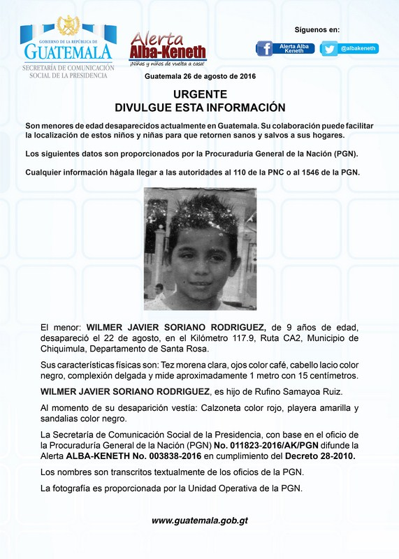 Wilmer Javier Soriano Rodriguez