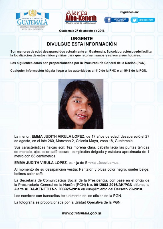 Emma Judith Virula Lopez