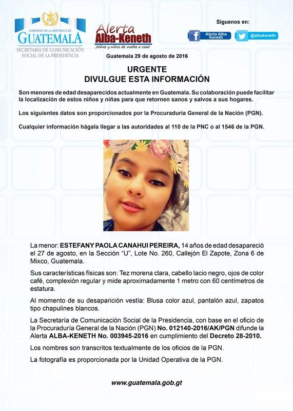 Estefany Paola Canahui Pereira