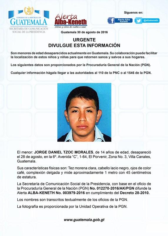 Jorge Daniel Tzoc Morales
