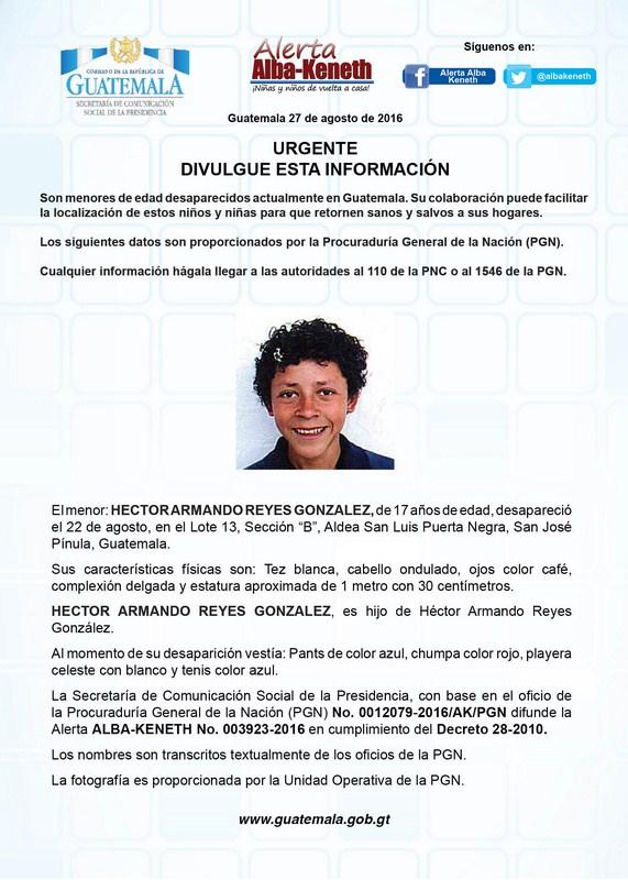 Hector Armando Reyes Gonzalez