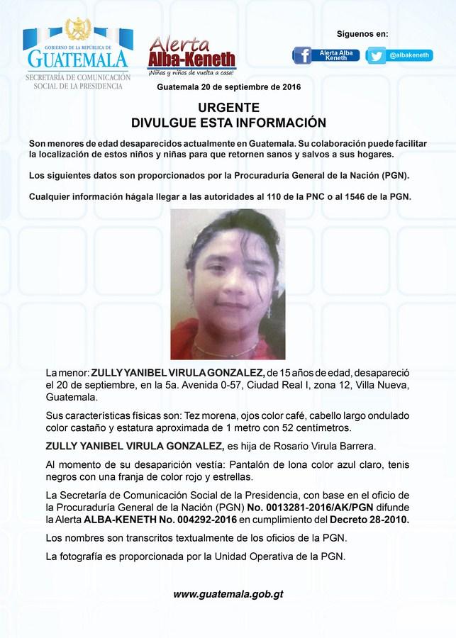 Zully Yanibel Virula Gonzalez
