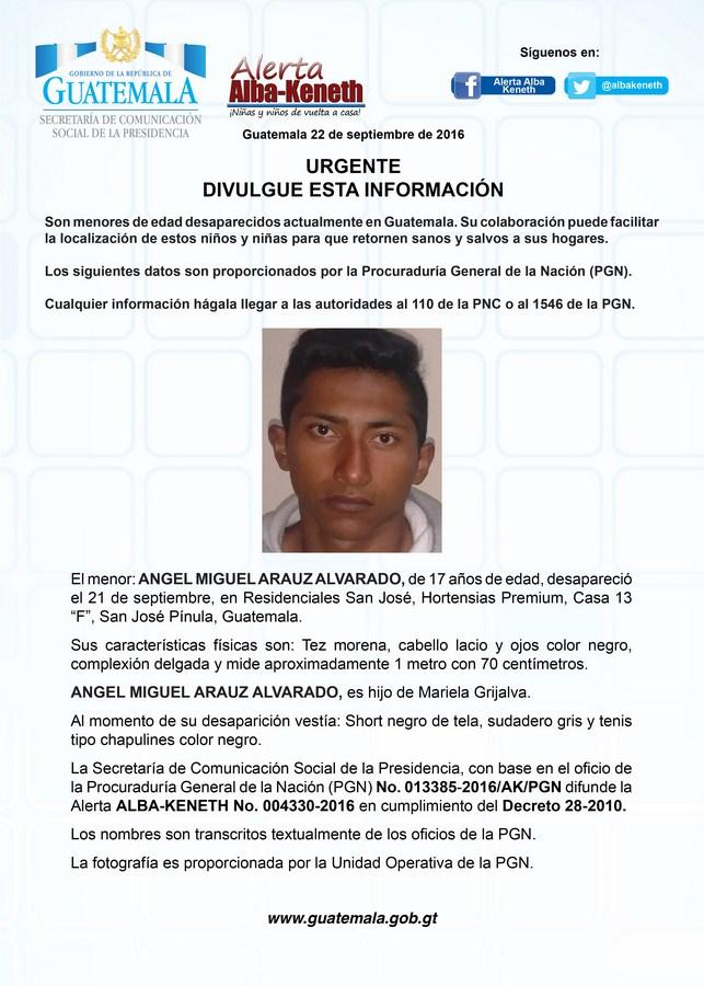 Angel Miguel Arauz Alvarado