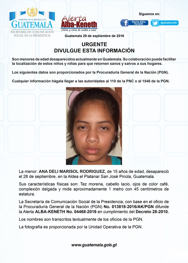 Ana Deli Marisol Rodriguez