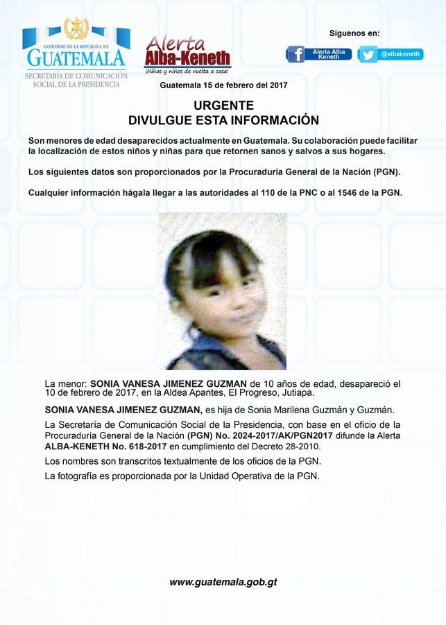 Sonia Vanesa Jimenez Guzman
