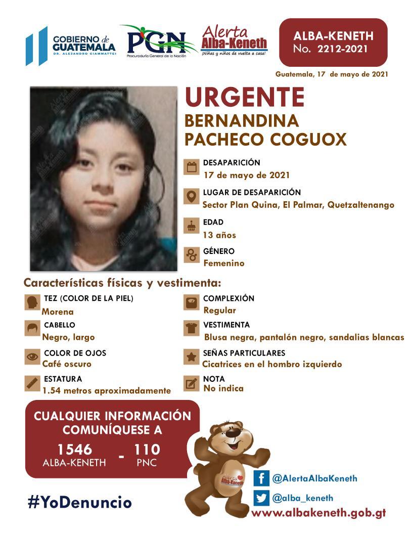 Bernandina Pacheco Coguox
