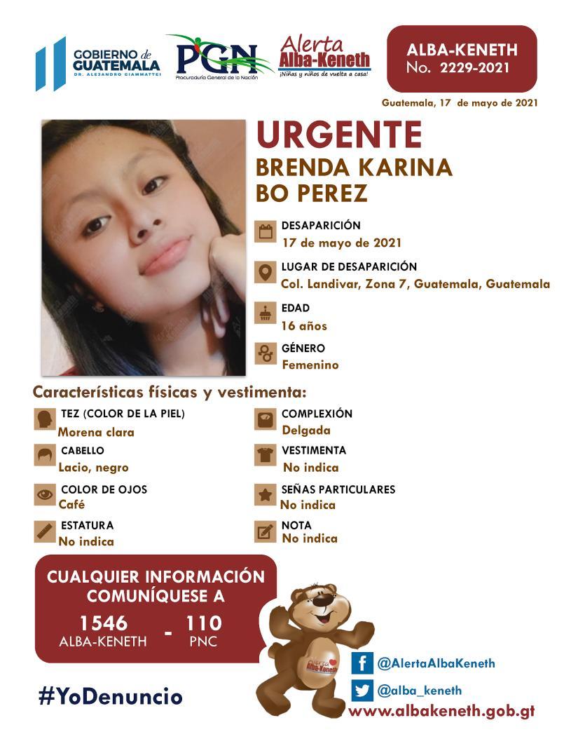 Brenda Karina Bo Perez
