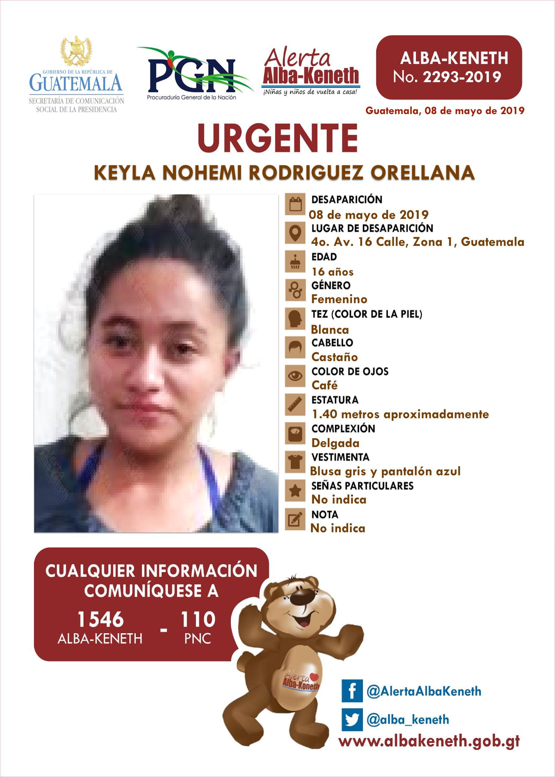 Keyla Nohemi Rodriguez Orellana