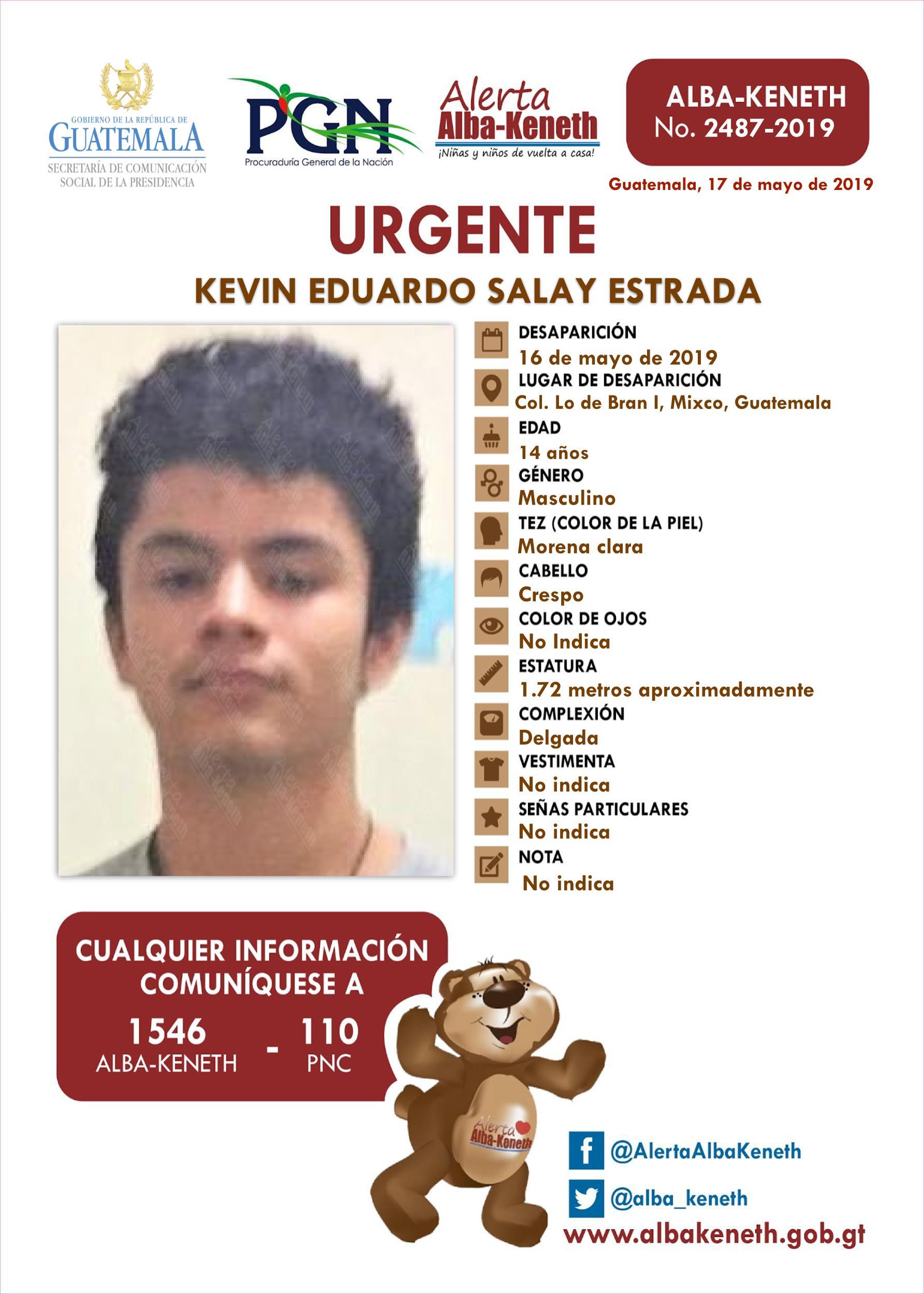 Kevin Eduardo Salay Estrada