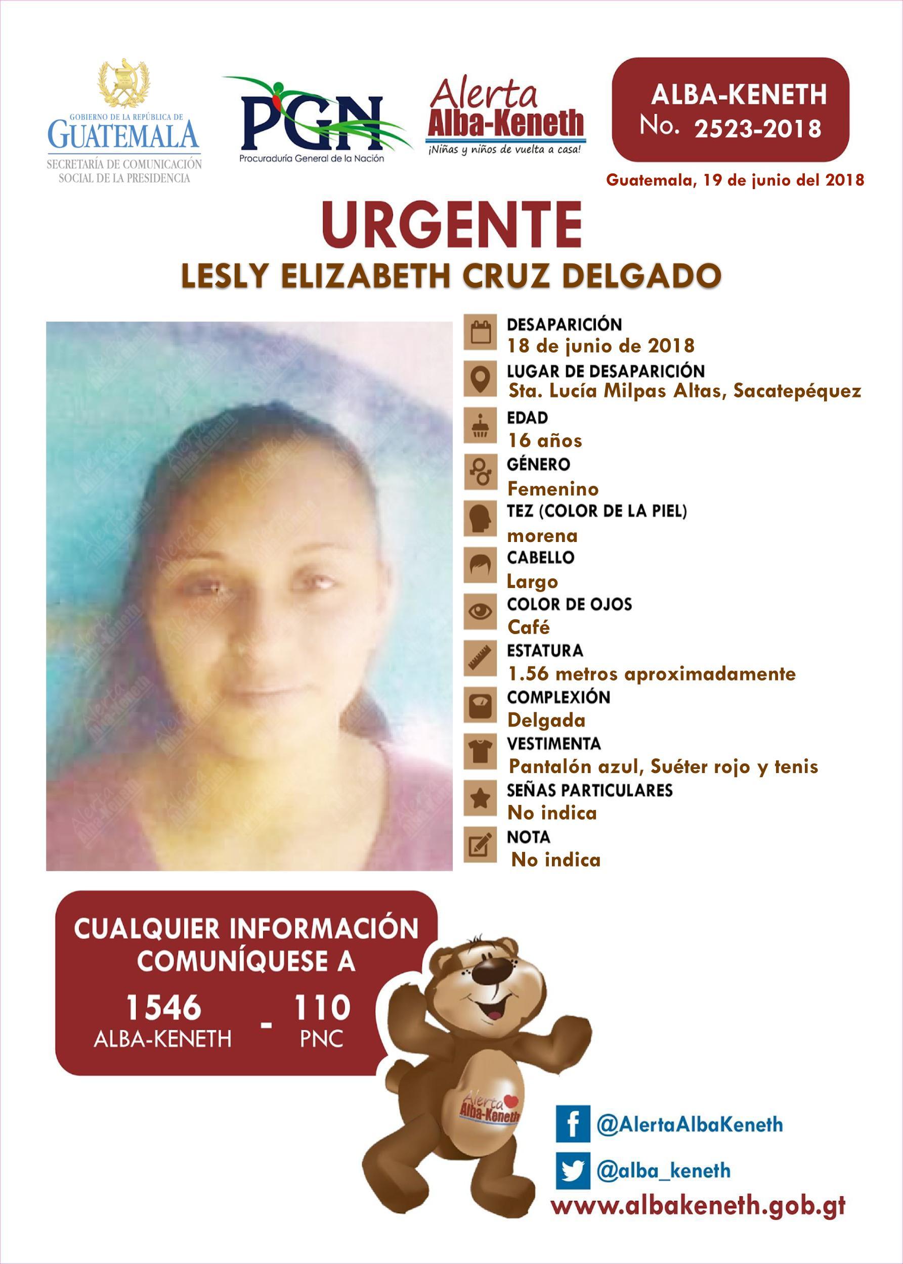 Lesly Elizabeth Cruz Delgado